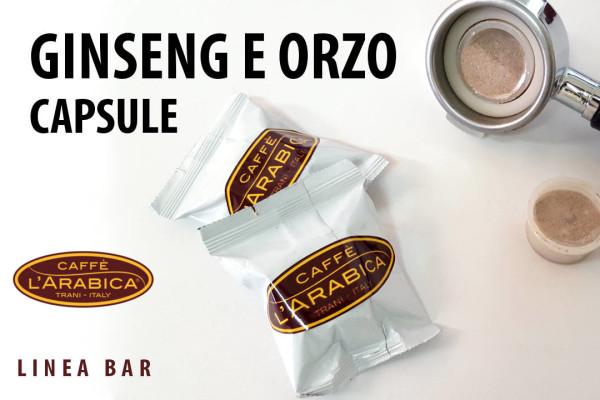 Capsule ginseng orzo